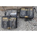 Battery chargers for cordless drills.