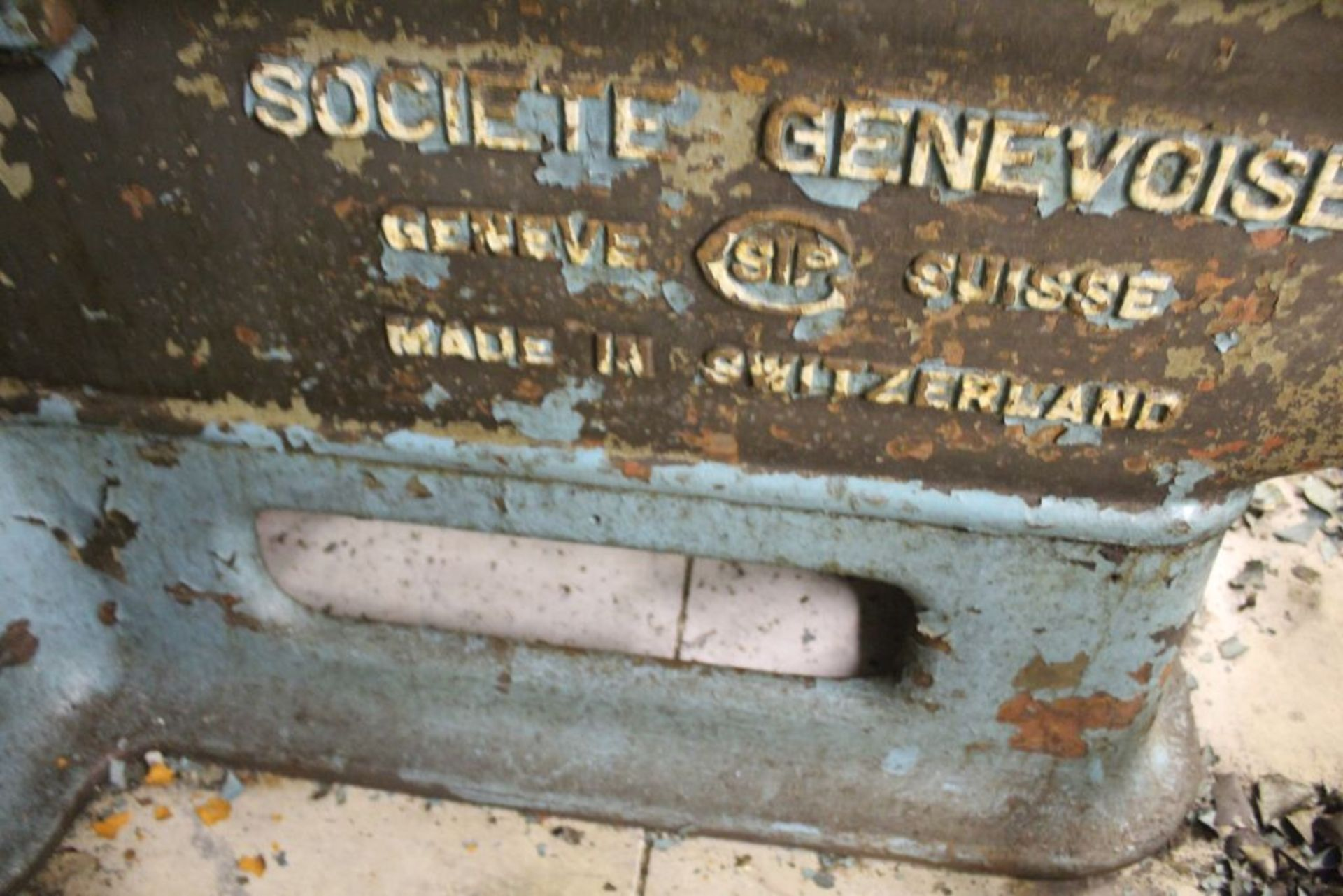 """Societe CSIP mill, duel head, table travel 32"""", clearance horz. 33.5"""", head clearance 23.5"""". - Image 3 of 4"""