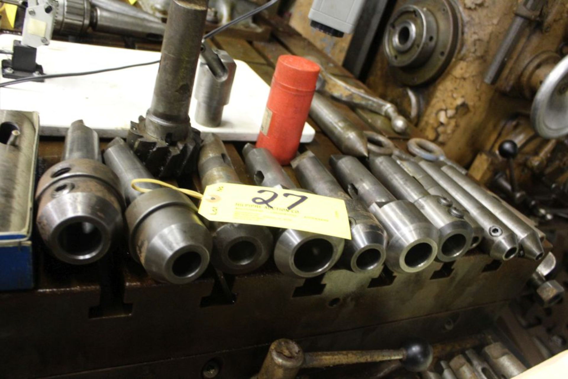 Tapered tool holders, (14). - Image 2 of 2