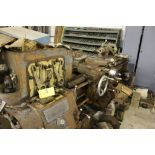 "1954 Monarch lathe, sn 38256, 16"", 1 3/4"" hole, 80"" bed, 18"" swing, 54"" center to center, tool"