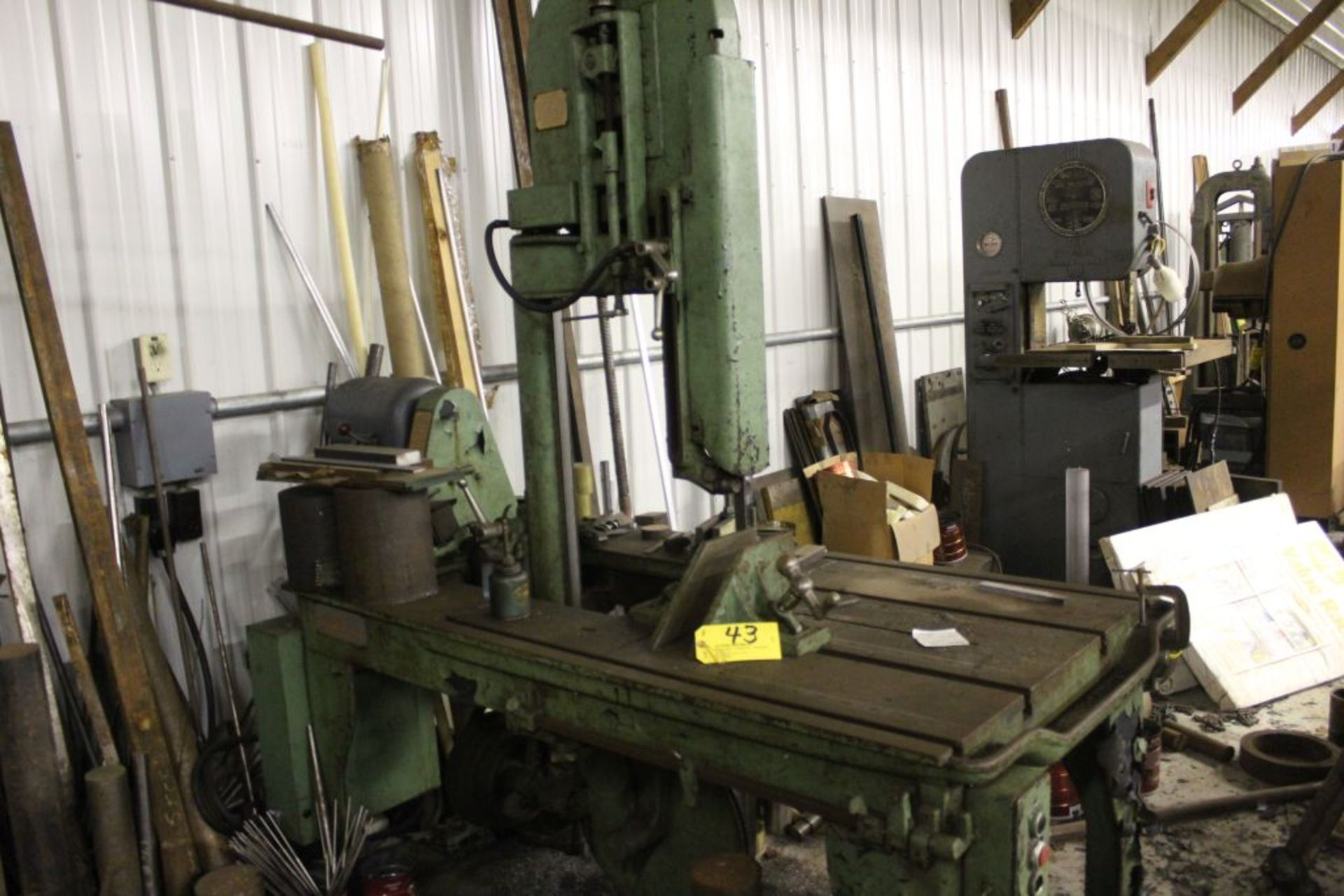 Marvel bandsaw, model 8/M8, sn 88031, 3-speed, vertical / miter cut. - Image 2 of 2