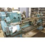 "Springfield lathe, sn 52071, 14"", 1 3/4"" hole, 16"" swing, 48"" center to center, taper attachment,"