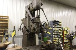 "Pratt Whitney mill No. 2A, jig borer M-1620, sn 1097, 44"" x 22"" bed, (parts machine)."