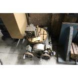 """Pratt & Whitney rotary table, sn 27639, 16"""" tilting table."""
