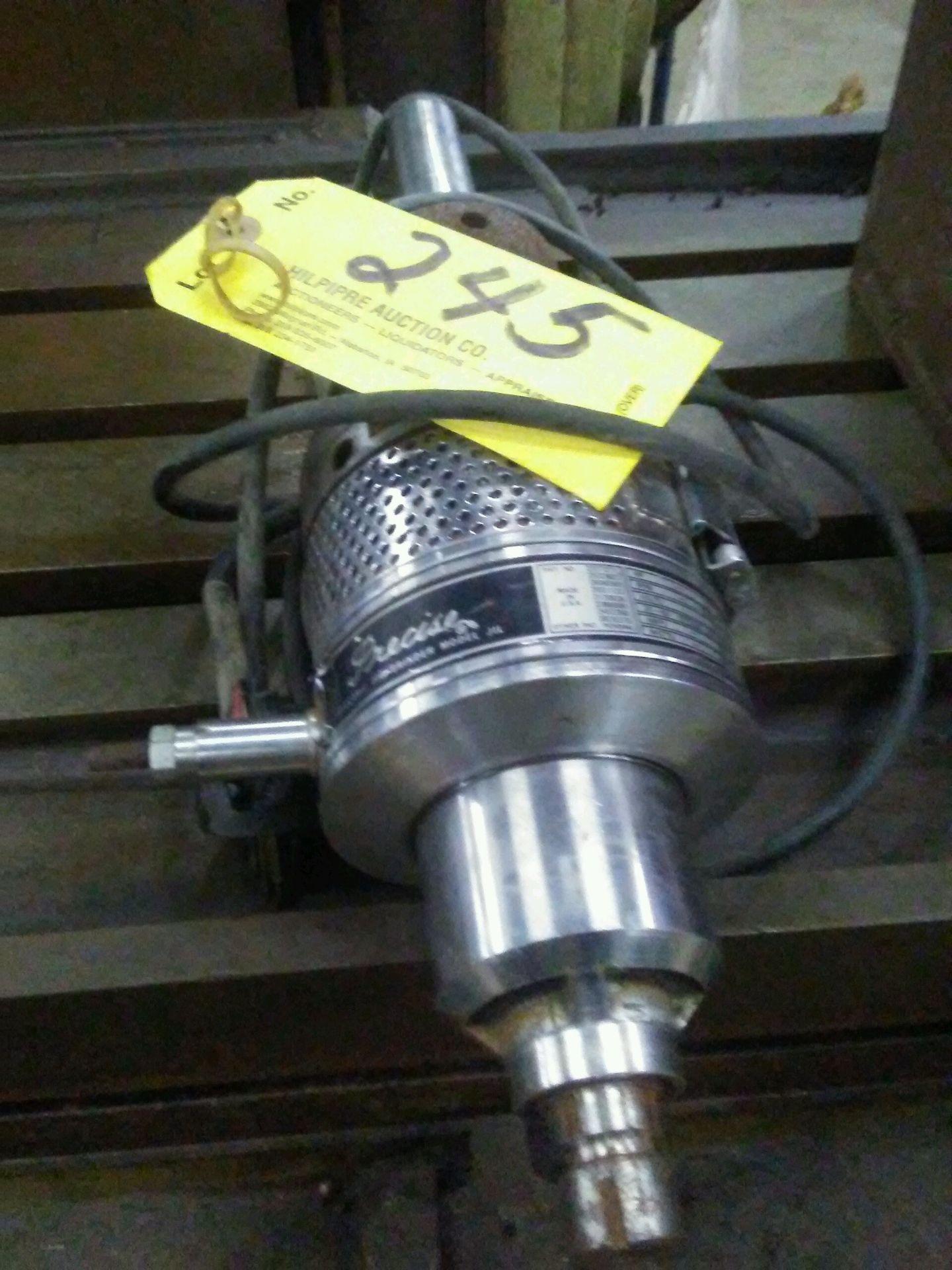 Precise electric jig grinder, model JIL.