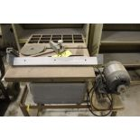 "Craftsman table saw, model 103, 8"" table saw, sn 22161, 3/4 hp."