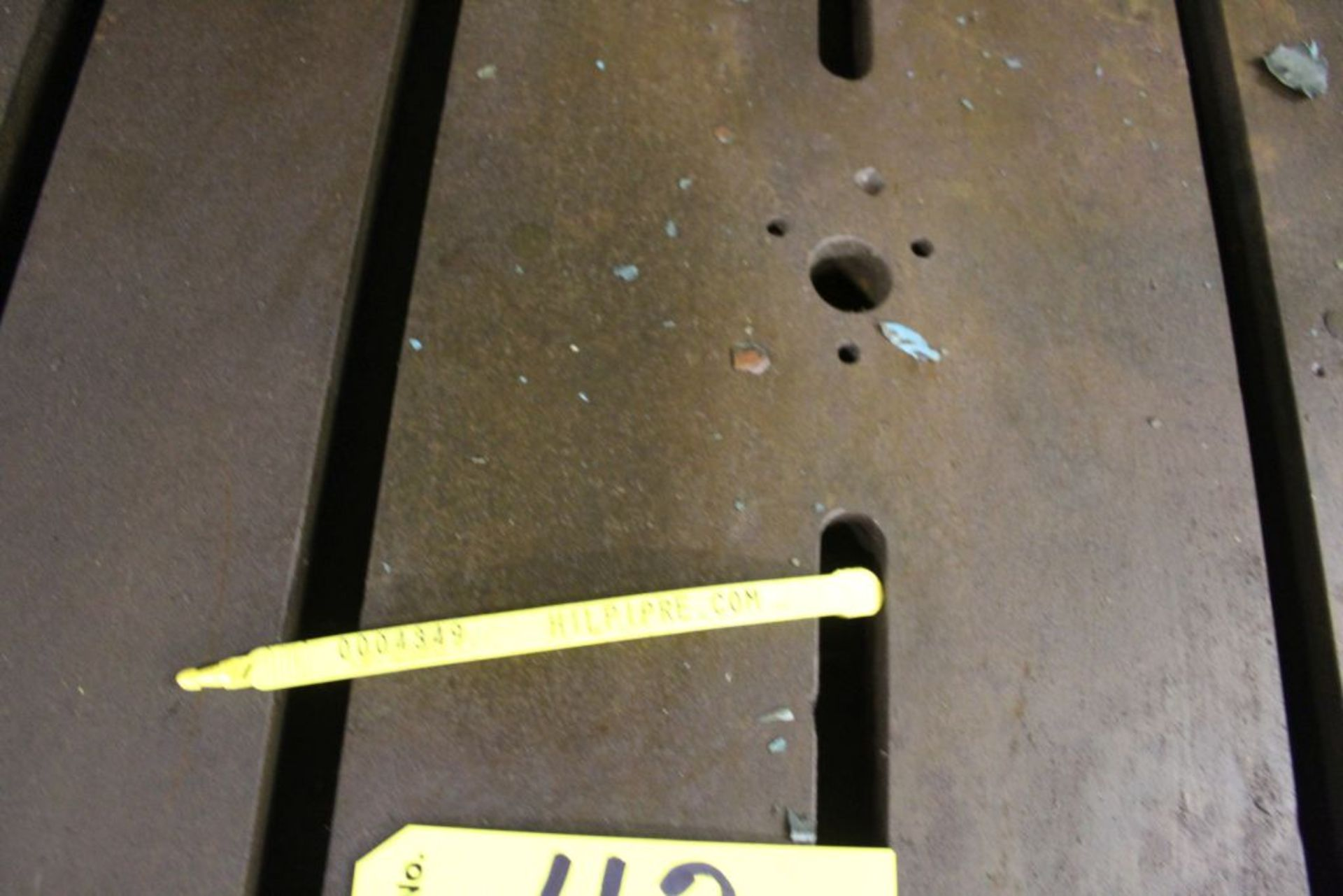"""Adjustable slotted fixture table 24"""" x 24"""" x 27"""". - Image 3 of 3"""