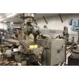 """Tree mill, model 2UVR, 10.5"""" x 42"""" bed, power feed, Scan-O-Matic tracing attachment."""