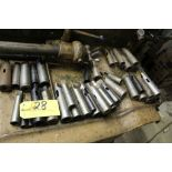 Tapered tool holders, (60).