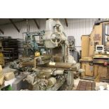 "Milwaukee mill, model K, sn 4192, 12"" x 57"" bed."