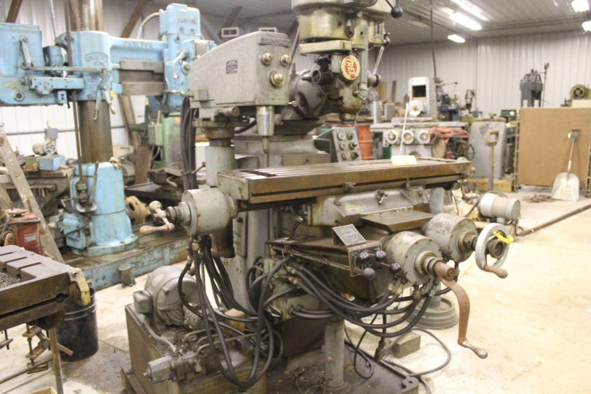 "Tree mill, model 2UVR, 10.5"" x 42"" bed, power feed, Scan-O-Matic tracing attachment. - Image 3 of 4"