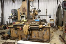 "DeVlieg jig mill 3B, sn 24145, 48"" 30"" bed, Sony LM20 digital readout, X-table, Y-vertical, Z-"