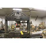 KRW H-frame press, 36 T., hydraulic.