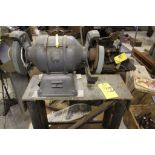 """Baldor double spindle grinder, 8"""", 3/4 hp, on stand."""
