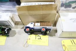 Smith & Wesson scale model bank 1952 GMC stake truck, 1/34 scale.