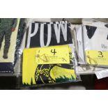 (3) POW flags; (1) Dissent flag, 3 x 5.
