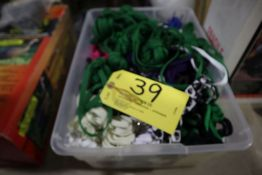 Large lot of shoelaces.