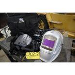 Miller Power air purifying respirator helmet Model 9400