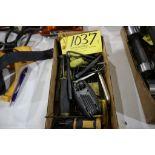 Allen wrenches, T-handles.