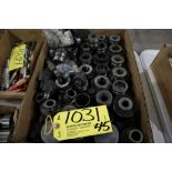 Quick change tool holders, (apprx. 45).