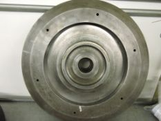 Grinding wheel mounting plate fits Winslow.