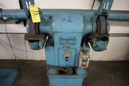 """Hammond Double spindle grinder, 2 hp, 3 ph, 12""""."""