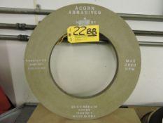 Grinding wheel ACORN abrasives, 20 x 1.062 x 12, model N9092.