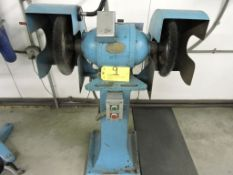 United States Electrical Tool Company double spindle grinder, model 10, sn 21186, 208 volt, 3 phase,