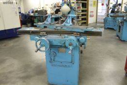 Cincinnati model 2 tool & cutter grinder, sn TRW-39864, single axis twin spindle grinding head,