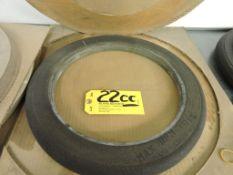 Grinding wheel (2) 20 x 1.062 x 12, used.