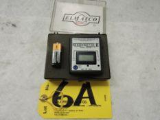 Electro-matic Residumeter.