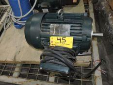 Toshiba electric motor, 10 hp.