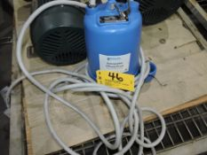 Goulds electric waste water pump, model WE0534HS, 1/2 hp.