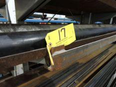 Steel rack, 10 ft., adj. arms.
