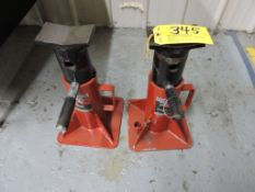 Jack stands, 20 T.