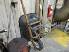 Wheel barrow.