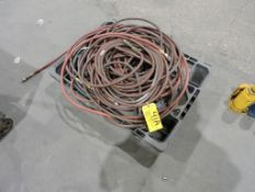 Pallet of air hoses.