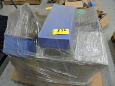 Pallet parts tubs, poly.