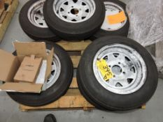 New 4.80-12 Eco-Trail ST trailer tires.