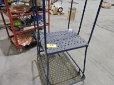 Portable ladder.
