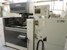 Mitsubishi FA20 SM wire cut EDM machine, sn 04F25057. (LOCATED IN WAVERLY, IA)