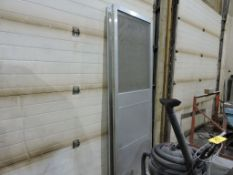 Aluminum shield enclosure and tri-fold.
