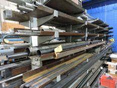 All steel in rack.