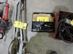 Hydraulic brake cylinder hone.