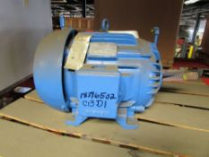 Siemens Type RGZESD 15 HP Electric Induction Motor