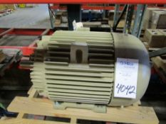 General Electric Model 5KS365XAA208D12 75 HP Electric Induction Motor