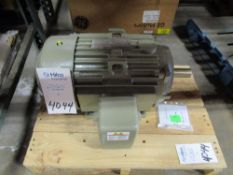 General Electric Model 5KS254XAA10803 15 HP Electric Induction Motor