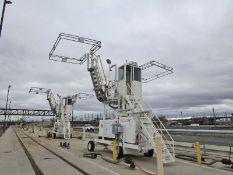 Rail Barge Truck Self Propelled Portable Platform