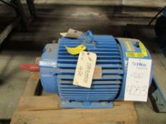 Reliance Electric 30 HP Electric Induction Motor