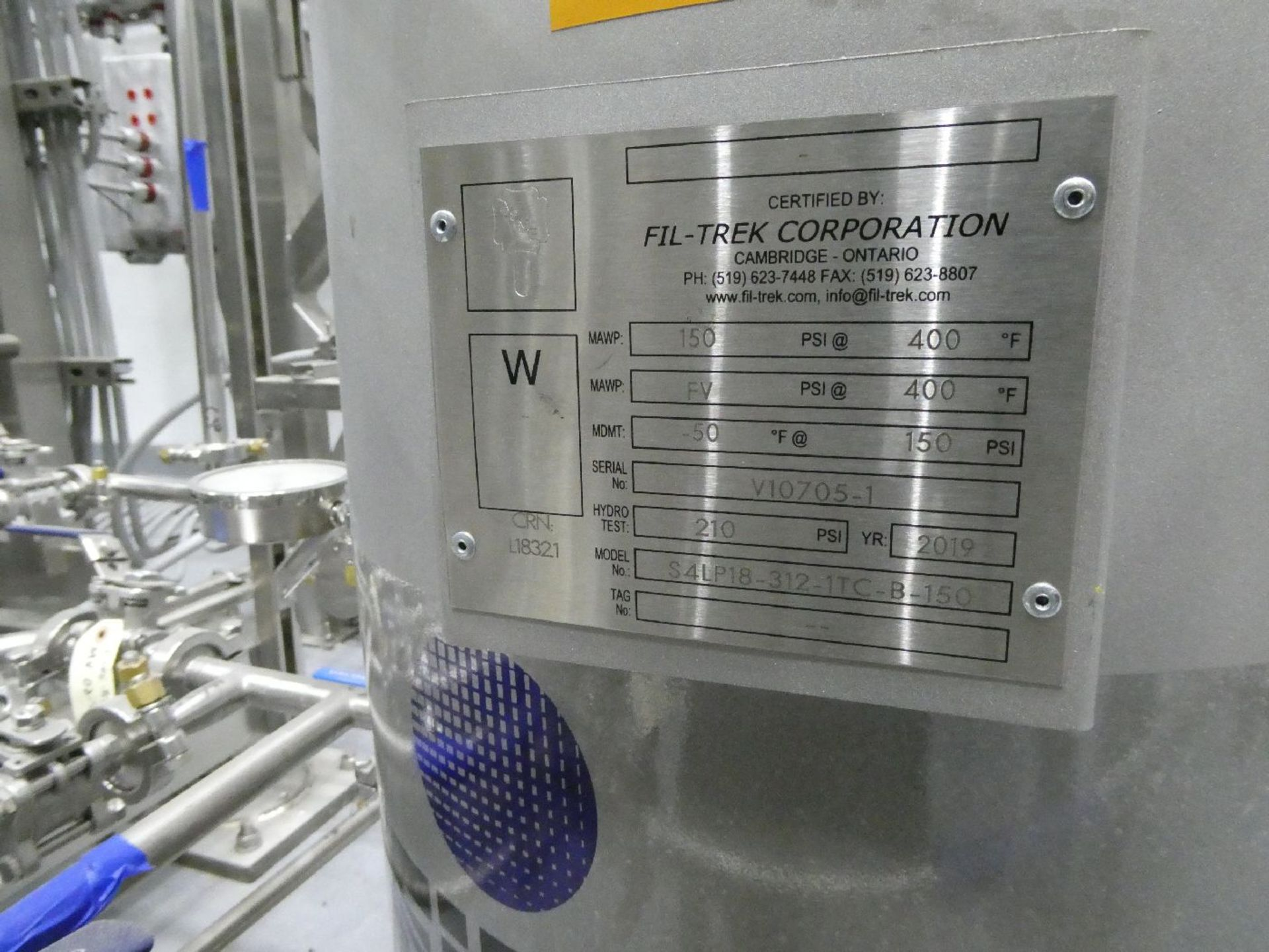 ROTAX Closed Loop Solvent Based Continuous Oil Extraction System - Image 18 of 68